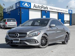 Used 2018 Mercedes-Benz CLA-Class 250 4MATIC Coupe NAV|BACKUP CAM|SUNROOF|LEATHER|4MATIC for sale in Georgetown, ON