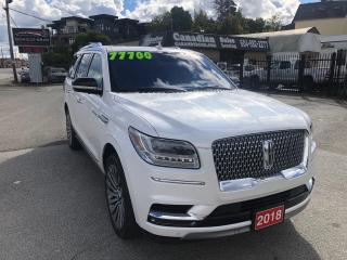 Used 2018 Lincoln Navigator Reserve 3.5L ECO BOOST 450HP 10 SPD AUTO for sale in Langley, BC