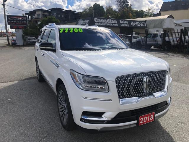 2018 Lincoln Navigator Reserve 3.5L ECO BOOST 450HP 10 SPD AUTO