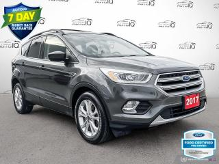Used 2017 Ford Escape SE FWD Leather/Navi/Power Liftgate for sale in St Thomas, ON