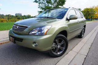 Used 2008 Lexus RX 400h ULTRA PREMIUM / CLEAN CARFAX / RARE COLOUR COMBO for sale in Etobicoke, ON