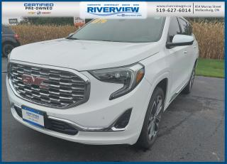 Used 2020 GMC Terrain Denali ONE OWNER | LUGGAGE RACK | HANDS-FREE LIFTGATE | BOSE SPEAKERS | RUNNING BOARDS for sale in Wallaceburg, ON