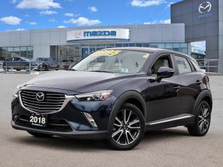 Used 2018 Mazda CX-3 GT - AWD, LEATHER, BOSE, MOONROOF, BLUETOOTH for sale in Hamilton, ON