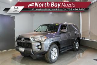 Used 2015 Toyota 4Runner SR5 V6 LOW MILEAGE - Sunroof - Heated Seats - Nav for sale in North Bay, ON