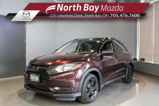 Used 2018 Honda HR-V EX-L Leather - Sunroof - Nav - Dual Zone Climate Control for sale in North Bay, ON