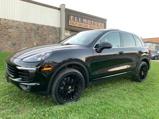 Used 2016 Porsche Cayenne PLATINUM AWD NAVI PANO LKA BSM REAR VIEW CAM for sale in North York, ON