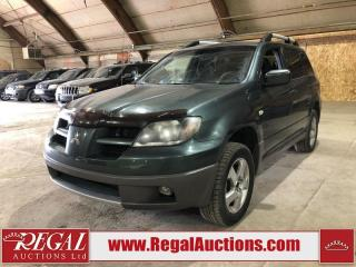 Used 2003 Mitsubishi Outlander for sale in Calgary, AB