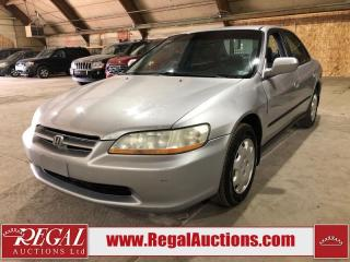 Used 2000 Honda Accord for sale in Calgary, AB