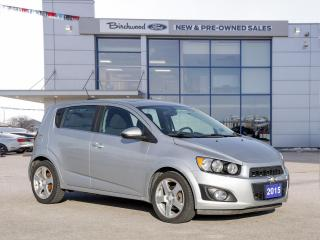 Used 2015 Chevrolet Sonic LT ROOF | HTD SEATS | BACK UP CAM for sale in Winnipeg, MB