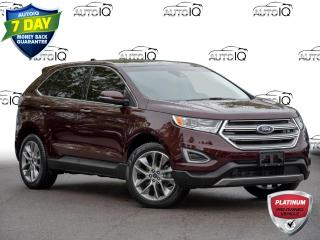 Used 2018 Ford Edge Titanium FWD | 301A | PANORAMIC ROOF | NAVIGATION | SAFE & SMART for sale in St Catharines, ON