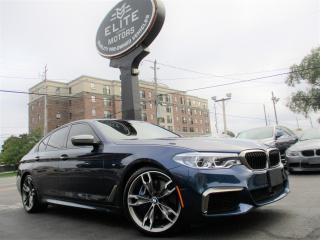 Used 2018 BMW 5 Series M550i xDrive Sedan for sale in Burlington, ON