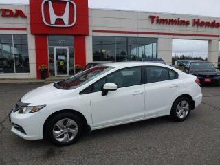 Used 2015 Honda Civic SEDAN LX for sale in Timmins, ON