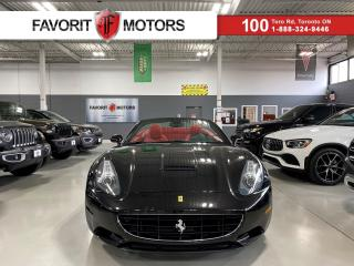 Used 2010 Ferrari California CONVERTIBLE|CARBONCERAMIC|REDLEATHER|NAV|454HP V8| for sale in North York, ON