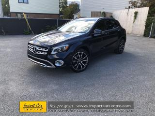 Used 2018 Mercedes-Benz GLA PANO ROOF  ALLOYS  HTD SEATS  BACKUP CAM  BLIS for sale in Ottawa, ON