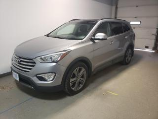 Used 2013 Hyundai Santa Fe XL Limited Htd/Cld Lthr Pwr Tailgate Navi Loaded for sale in Brandon, MB