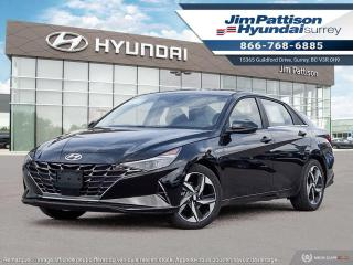 New 2022 Hyundai Elantra Ultimate Tech for sale in Surrey, BC