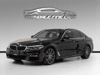 Used 2017 BMW 5 Series 540i xDrive M Sport, Navigation, Camera, Roof, Loaded! for sale in Concord, ON