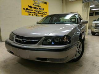 Used 2003 Chevrolet Impala LS Annual Clearance Sale! for sale in Windsor, ON