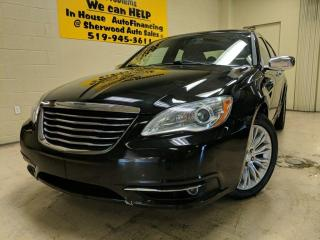 Used 2013 Chrysler 200 Limited Annual clearance Sale! for sale in Windsor, ON