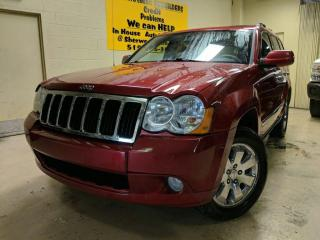 Used 2010 Jeep Grand Cherokee Limited for sale in Windsor, ON