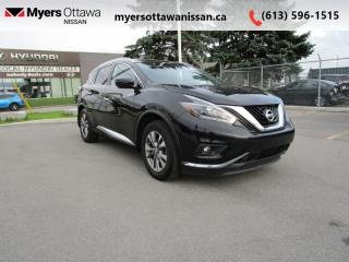 Used 2018 Nissan Murano AWD SV  - Sunroof -  Navigation for sale in Ottawa, ON