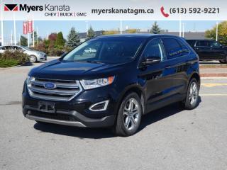 Used 2017 Ford Edge Titanium  - Leather Seats -  Bluetooth for sale in Kanata, ON