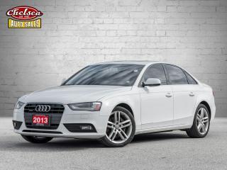 Used 2013 Audi A4 2.0T Premium Sedan quattro CERTIFIED! for sale in London, ON