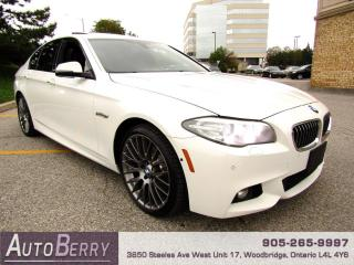 Used 2015 BMW 5 Series 528i xDrive M Sport Package Two Owners, Accident Free! for sale in Woodbridge, ON