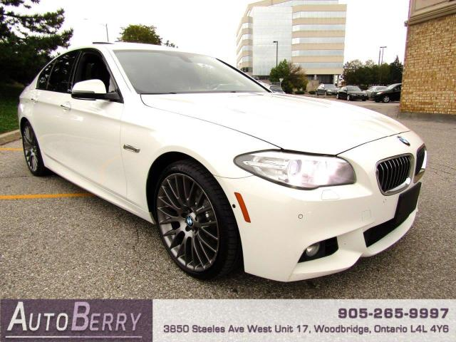 2015 BMW 5 Series 528i xDrive M Sport Package Two Owners, Accident Free!