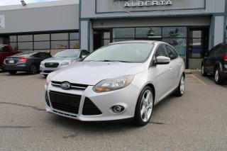 Used 2013 Ford Focus Titanium Sedan for sale in Calgary, AB
