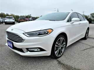 Used 2018 Ford Fusion Titanium 2.0L | Navigation | Sunroof | Remote Start for sale in Essex, ON