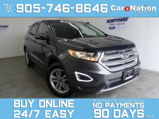 Used 2018 Ford Edge SEL | AWD | PANO ROOF | NAV | NEW CAR TRADE for sale in Brantford, ON