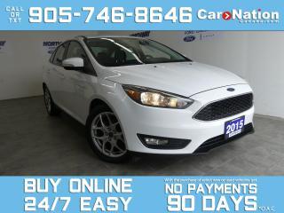 Used 2015 Ford Focus SE PLUS PKG | REAR CAM | WINTER PKG | 17'' ALLOYS for sale in Brantford, ON