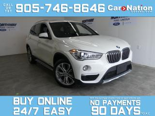Used 2018 BMW X1 XDRIVE 28I | LEATHER | ROOF | REAR CAM | ONLY 26 K for sale in Brantford, ON