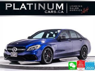 Used 2017 Mercedes-Benz C-Class AMG C63 S, 503HP, NAV, DISTRONIC PLUS, DRIVING PKG for sale in Toronto, ON