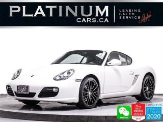 Used 2009 Porsche Cayman S, 320HP, BOSE, CHRONO PACKAGE, PDK, HEATED SEATS for sale in Toronto, ON