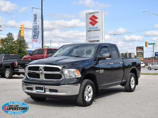 Used 2016 RAM 1500 SLT Quad Cab 4x4 ~8-Speed ~Bluetooth ~Camera for sale in Barrie, ON