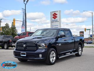 Used 2016 RAM 1500 Sport Crew Cab 4x4 ~Nav ~Cam ~Heated Seats/Wheels for sale in Barrie, ON