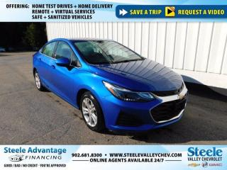 Used 2019 Chevrolet Cruze LT- BACK UP CAMERA-HEATED SEATS-AUTO START-KEYLESS!!! for sale in Kentville, NS