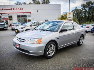 Used 2003 Honda Civic Cpe Lx Coupé for sale in Port Moody, BC