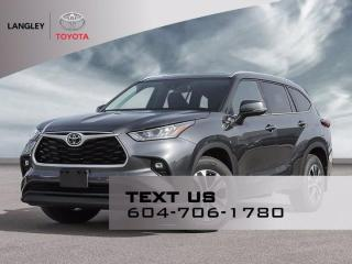 New 2021 Toyota Highlander XLE for sale in Langley, BC