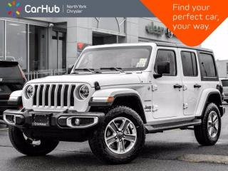 New 2021 Jeep Wrangler Unlimited Sahara|Advanced Safety|SKY Roof for sale in Thornhill, ON