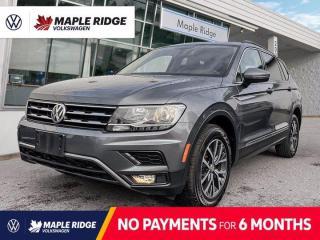 Used 2018 Volkswagen Tiguan COMFORTLINE for sale in Maple Ridge, BC