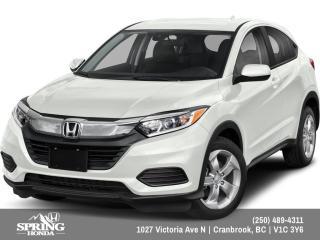 New 2022 Honda HR-V LX for sale in Cranbrook, BC