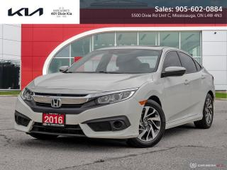 Used 2016 Honda Civic EX for sale in Mississauga, ON