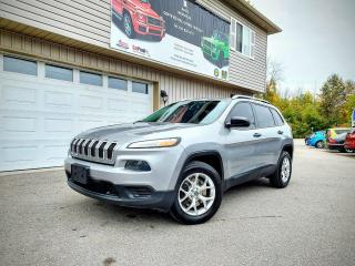 Used 2016 Jeep Cherokee Sport for sale in Orillia, ON