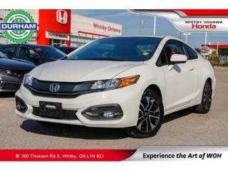 Used 2015 Honda Civic EX Coupe CVT Sunroof Backup Camera for sale in Whitby, ON