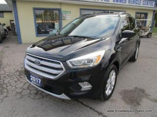 Used 2017 Ford Escape FOUR-WHEEL DRIVE SE-MODEL 5 PASSENGER 1.5L - ECO-BOOST.. NAVIGATION.. HEATED SEATS.. BACK-UP CAMERA.. PANORAMIC SUNROOF.. BLUETOOTH SYSTEM.. for sale in Bradford, ON