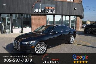 Used 2017 Audi A4 Progressiv I No Accidents I Navigation for sale in Concord, ON