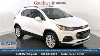 Used 2020 Chevrolet Trax Premier AWD, 1.4L Turbo, Power Sunroof, Heated Leather Seats, Remote Start, Rear Camera for sale in Winnipeg, MB